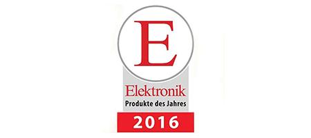 ELEKTRONIK Produkt des Jahres